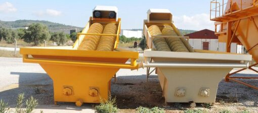 ماكينة غسيل رمل تركية
